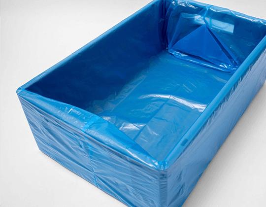 blue tray liner