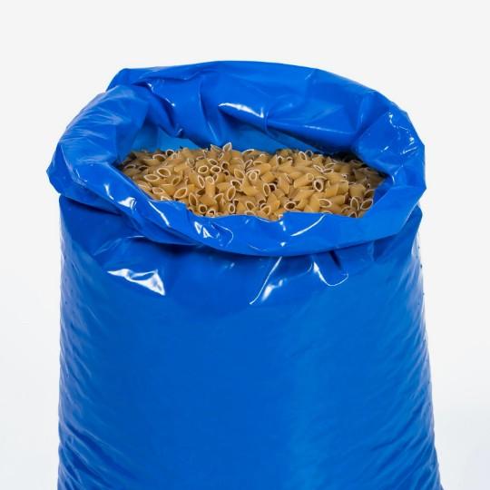 pasta in food packaging plastic sack