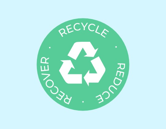 Recycle Reduce Recover logo