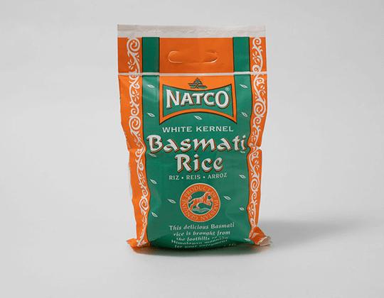 food packaging plastic rice bag